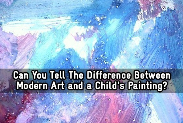 Can You Tell The Difference Between Modern Art and a Childs Painting  Trivia Quiz  Zimbio