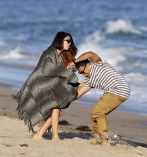 Selena Gomez In Plays Beach - Zimbio