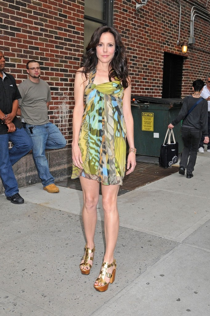 Mary Louise Parker On Letterman 2012