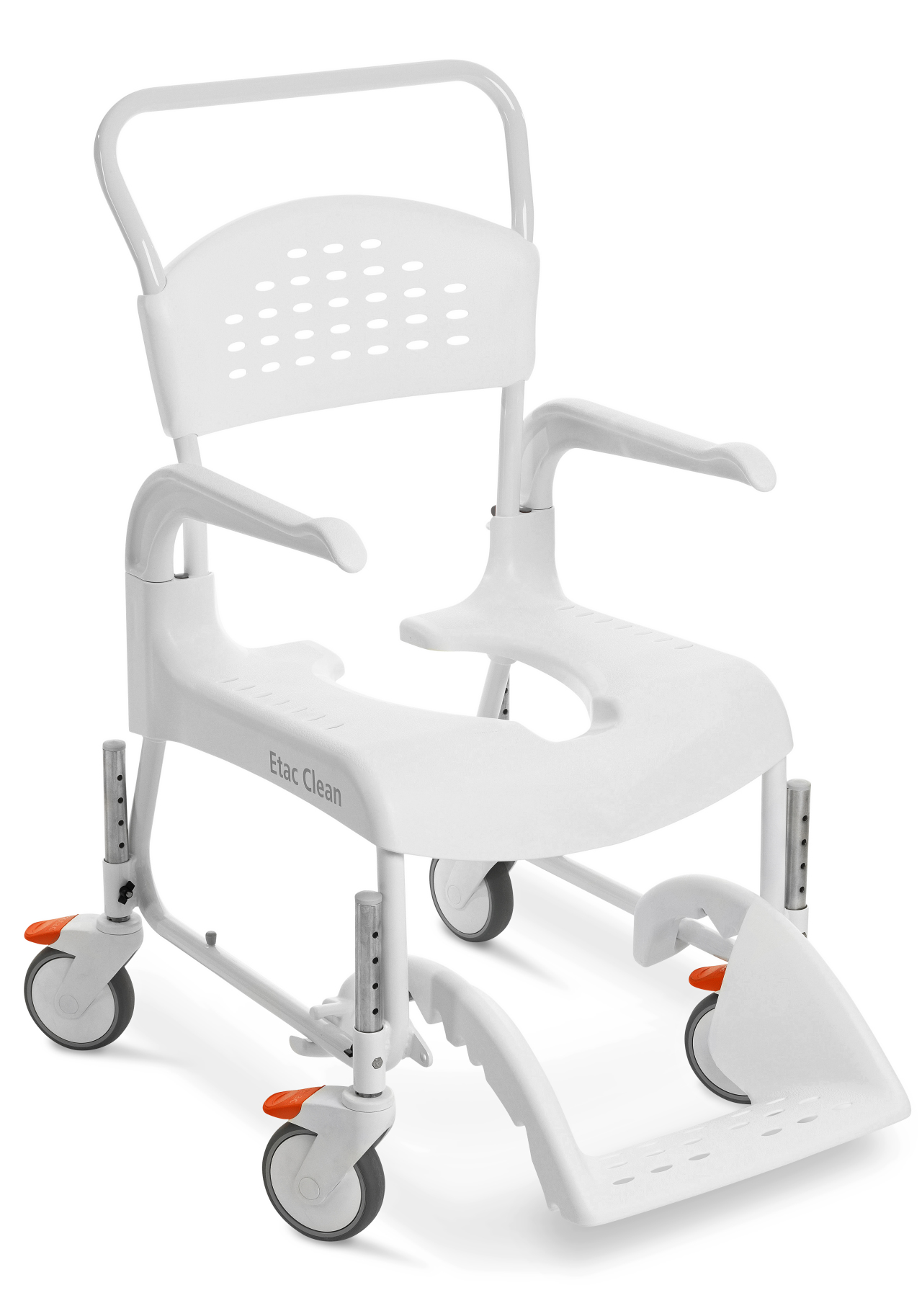 Shower Chair With Wheels Etac Clean 24 In Shower Commode Chair With Wheelchair Wheels