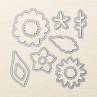 Flower Fair Framelits Dies by Stampin' Up!