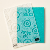 Lovely Lace Textured Impressions Embossing Folder by Stampin' Up!