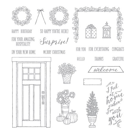 At Home with You from Stampin' Up!