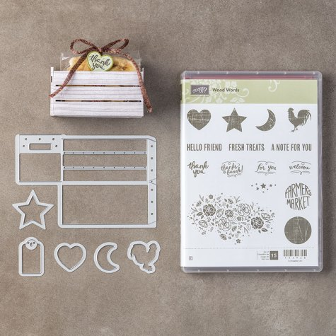 Wood Words Bundle - purchase this week for 20% off with Leonie Schroder Independent Stampin' Up! Demonstrator Australia