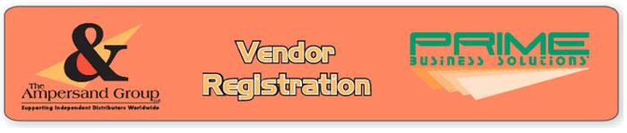 Vendor Registration Tab