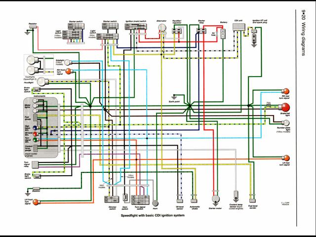 taotao 49cc scooter wiring diagram