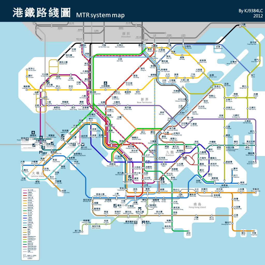 港鐵2030年路線圖.港鐵未來規劃圖.港鐵東西線_大山谷圖庫