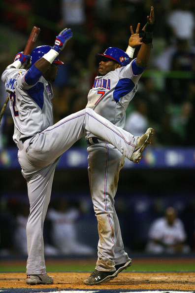 Hanley Ramirez and Jose Reyes - World Baseball Classic - Puerto Rico Day 4