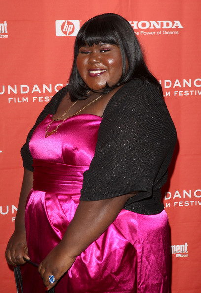 "Actress Gabourey 'Gabby' Sidibe attends the screening of ""Push: Based On The Novel By Sapphire"" held at the Racquet Club Theatre during the 2009 Sundance Film Festival on January 16, 2009 in Park City, Utah.  (Photo by Jason Merritt/Getty Images) *** Local Caption *** Gabourey Sidibe"