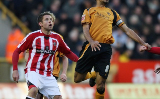 Karl Henry In Wolverhampton Wanderers V Sheffield United