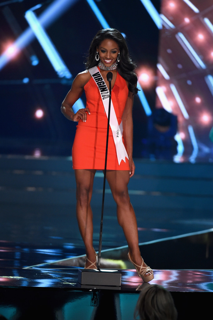 Miss Virginia Desi Williams Every Beautiful Contestant From The 2016 Miss Usa Competition