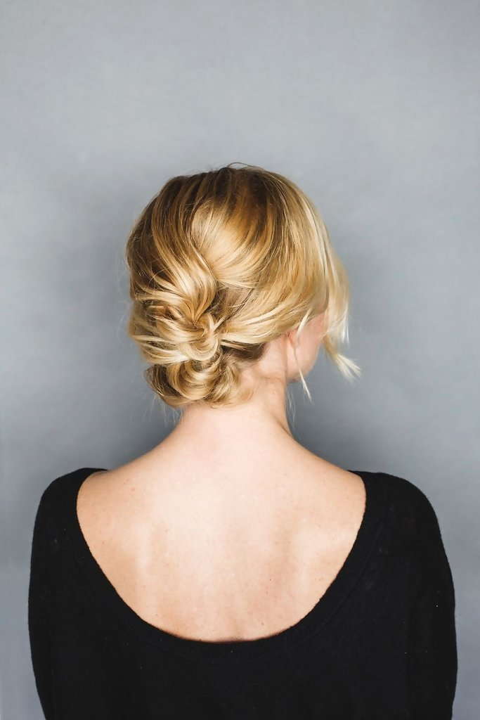 Twisted Braid Up Do Easy Back To School Hairstyles To