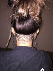 zig-zag - undercut hair design