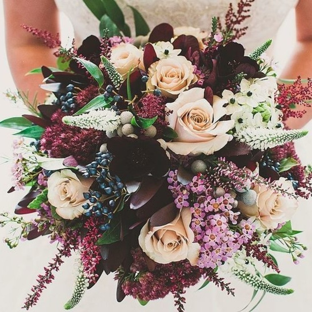 The Most Popular Wedding Bouquets On Pinterest  Livingly