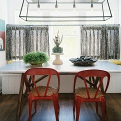 Kitchen Nook Curtains Lighting Melbourne Cafe Photos Design Ideas Remodel And Decor
