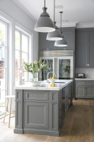 The Only Shade of Gray   Cool Kitchen Ideas   Lonny