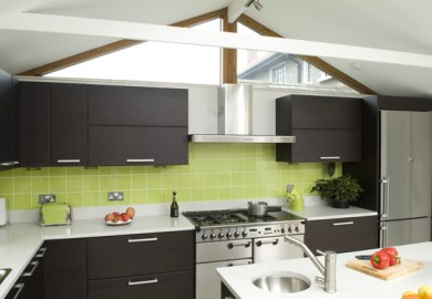 Green Kitchens Interior Design Ideas