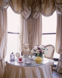 Swag Curtain Photos, Design, Ideas, Remodel, and Decor - Lonny