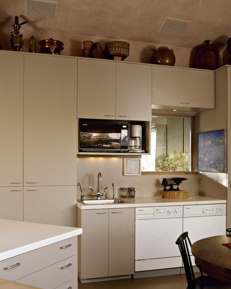 Beige Kitchen Cabinets Photos Design Ideas Remodel And Decor Lonny