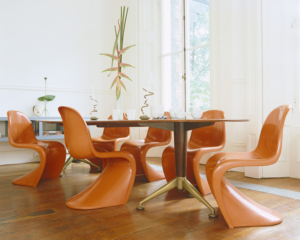 retro dining room chairs folding rocking chair in a bag decorating ideas lonny