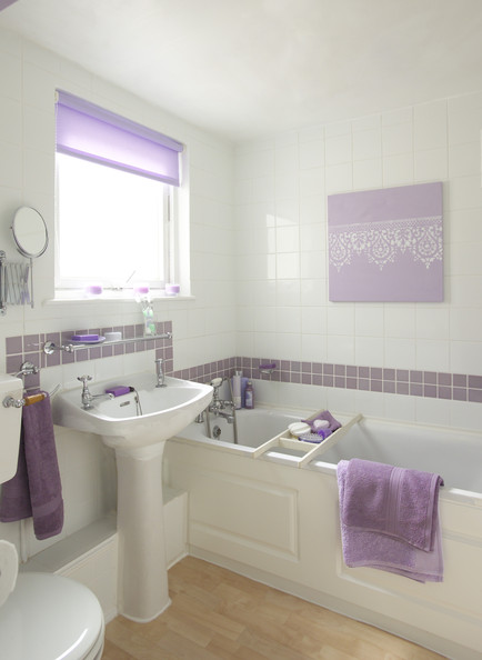 Purple Bathroom Photos 28 Of 30