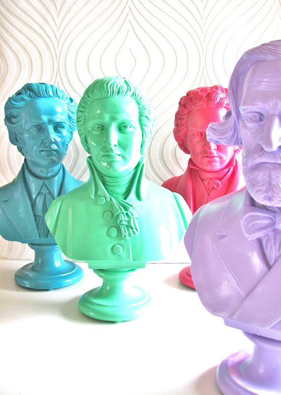 Cheeky historical busts | Lonny.com