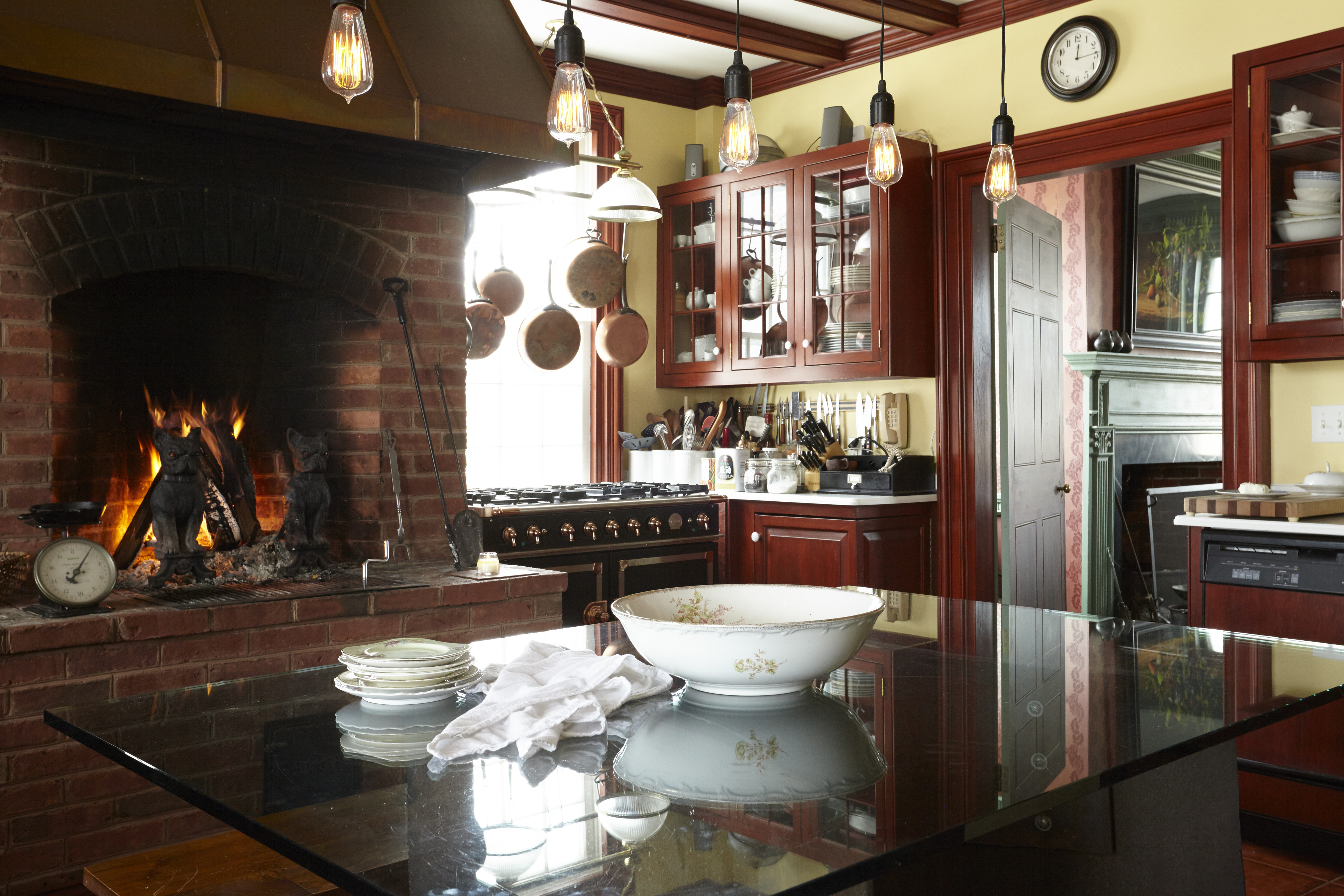 Cozy Kitchen  The Beekman Boys Upstate New York Farm  Lonny