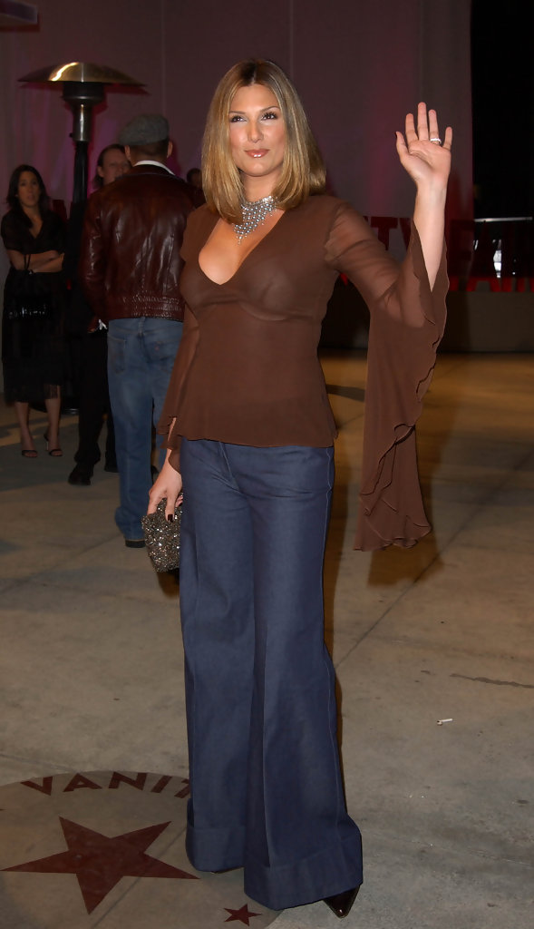 Daisy Fuentes 2002  Misguided Moments in Oscar Fashion  StyleBistro