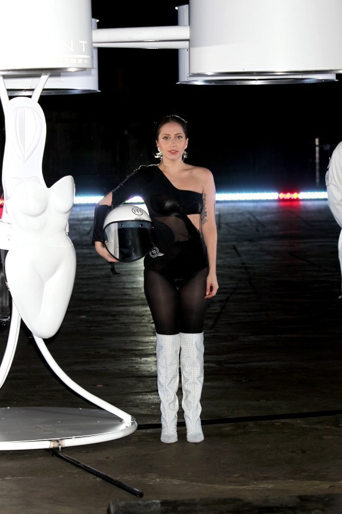 Lady Gaga Over the Knee Boots  Lady Gaga Looks  StyleBistro