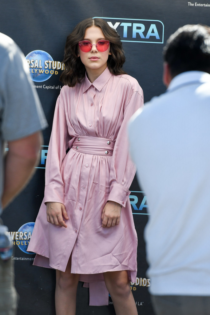 Millie Bobby Brown Shirtdress  Millie Bobby Brown Clothes