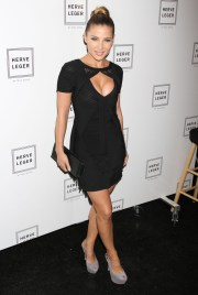 elsa pataky little black dress