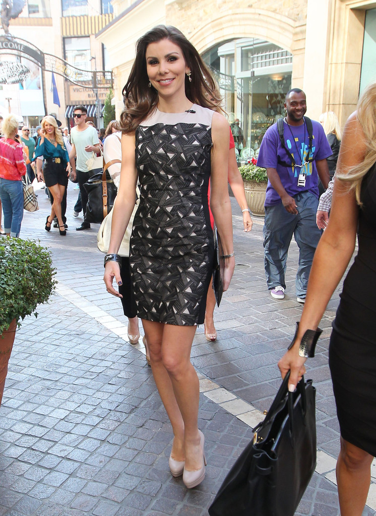 Heather Dubrow Print Dress Heather Dubrow Looks