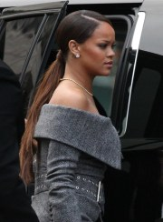 rihanna ponytail - long hairstyles