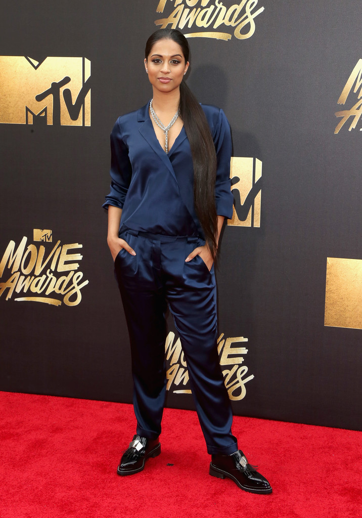 Lilly Singh The Best Dressed Looks From The 2016 MTV