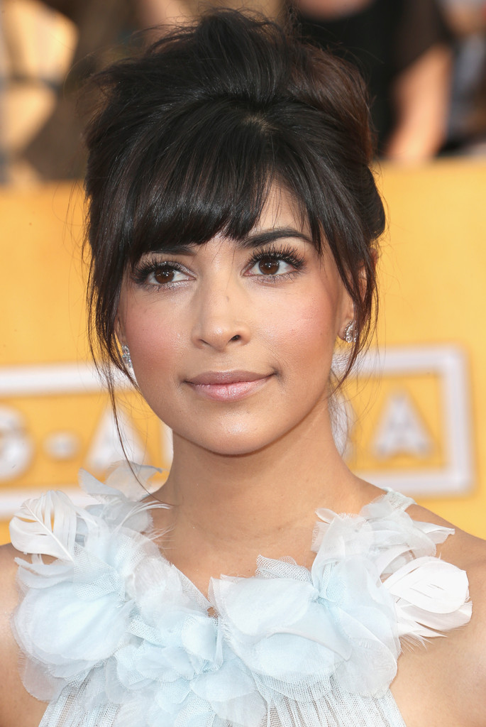 Hannah Simone 100 Best Wedding Hairstyles StyleBistro