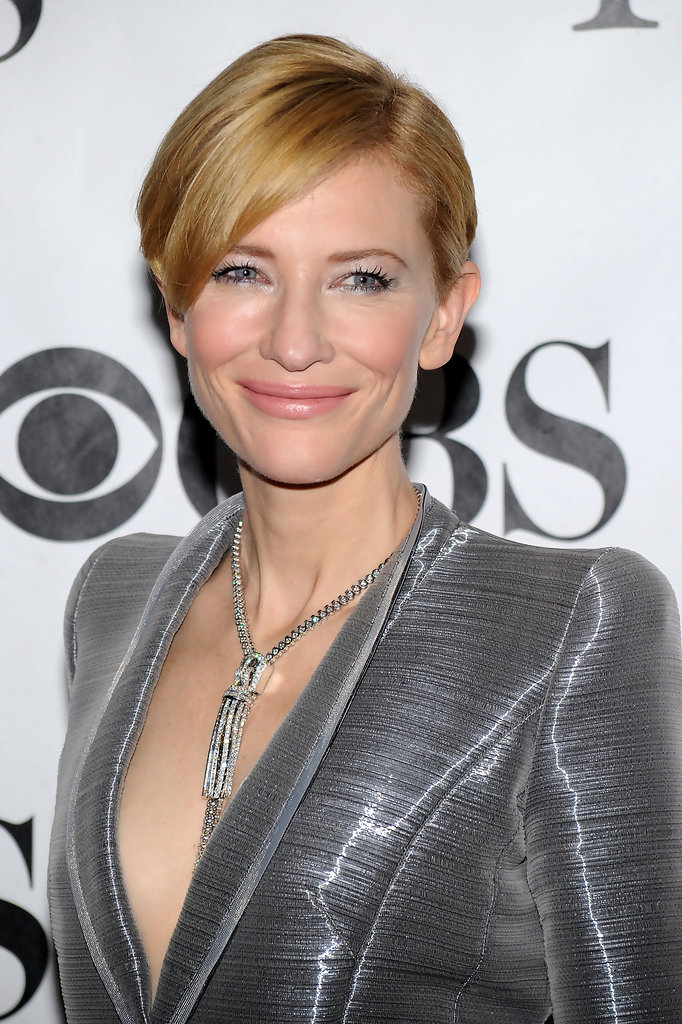 Cate Blanchett  Hollywoods Best Very Short Short Hair Styles  StyleBistro