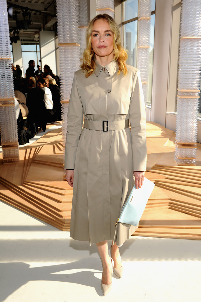Nina Hoss at BOSS Women  The Best Front Row Fashions at New York Fashion Week Fall 2015