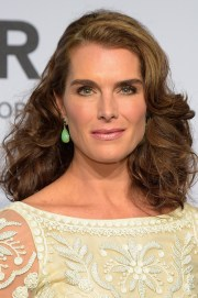 brooke shields medium curls - shoulder