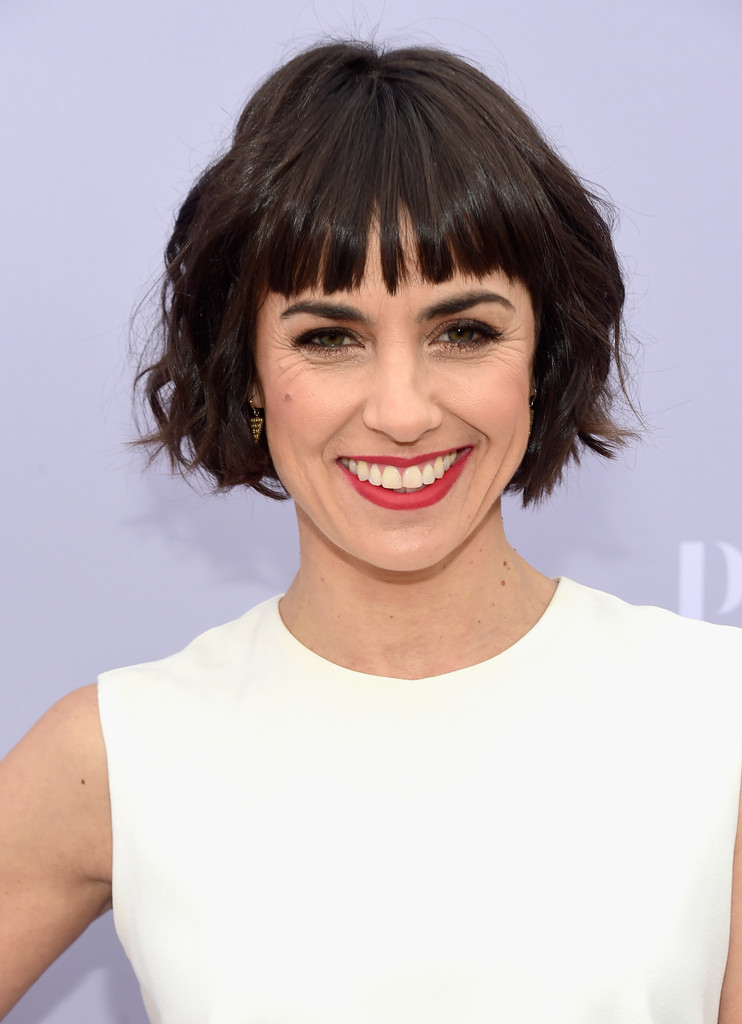 Constance Zimmer Short Cut With Bangs Short Cut With