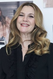 drew barrymore long curls