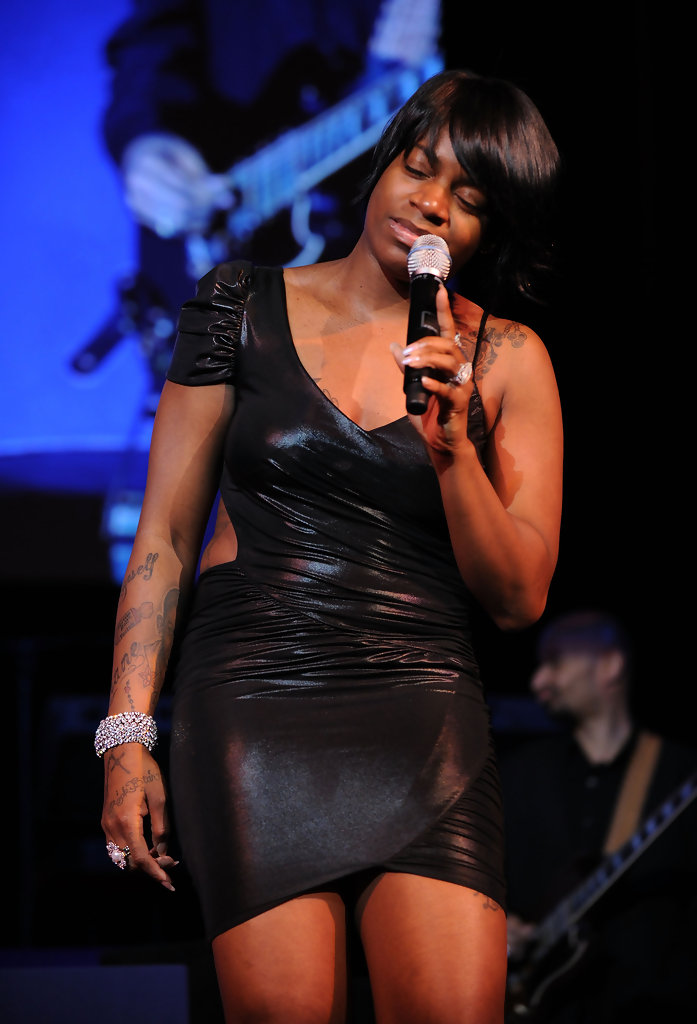 Fantasia Barrino Little Black Dress  Fantasia Barrino