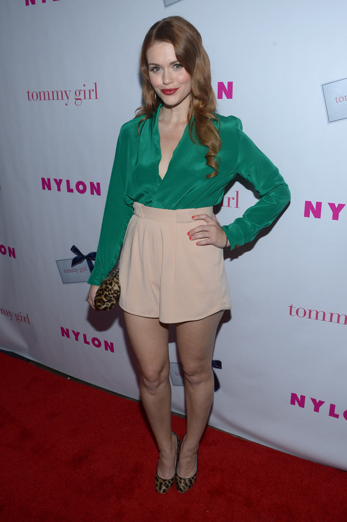 Holland Roden Loose Blouse  Holland Roden Looks  StyleBistro