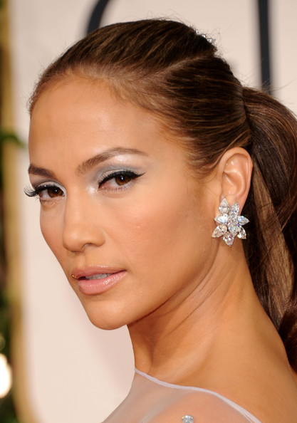 Jennifer Lopez Metallic Eyeshadow Jennifer Lopez Makeup