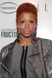 kelis short curls - hairstyles