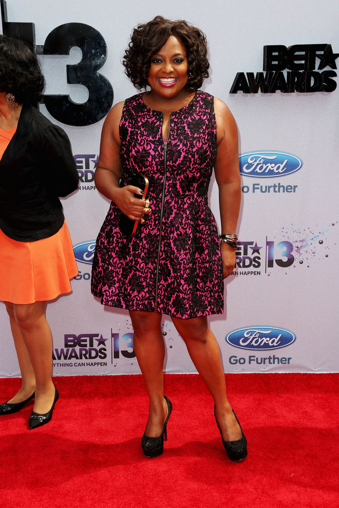 Sherri Shepherd Print Dress  Sherri Shepherd Looks