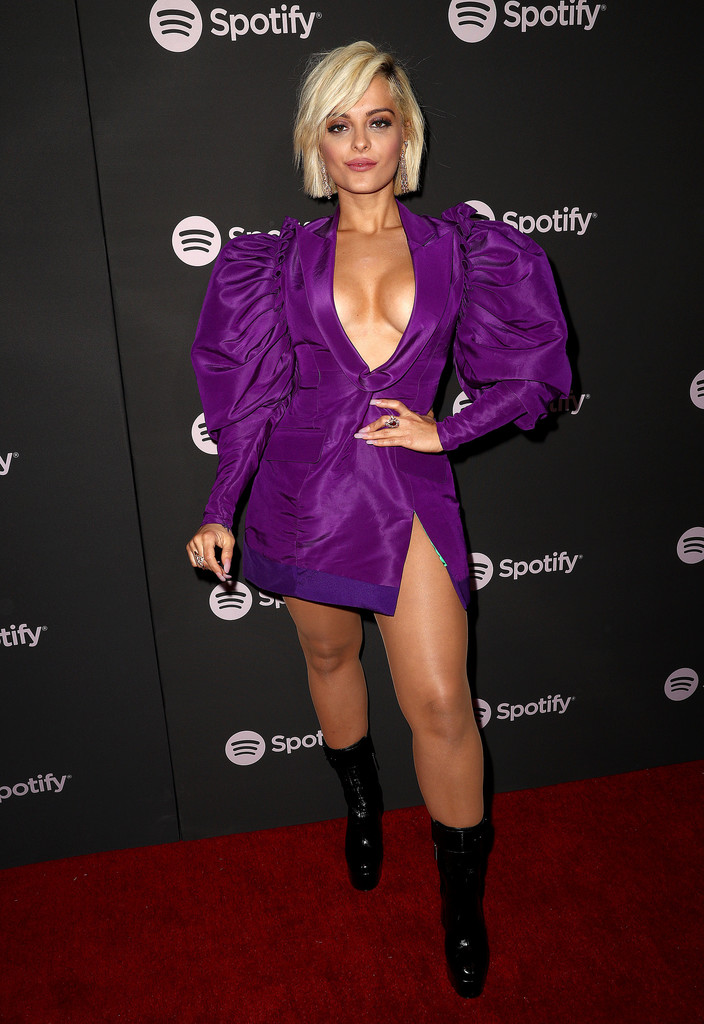 Bebe Rexha Every Look From The 2019 Grammy Award Show