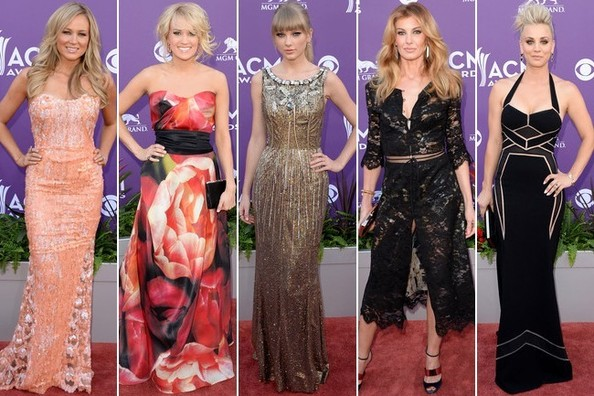 Best  Worst Dressed  The American Country Music Awards