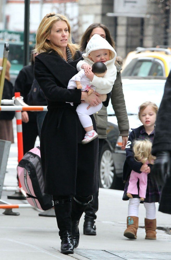 Helen Labdon and Family Leave Their Hotel  Zimbio
