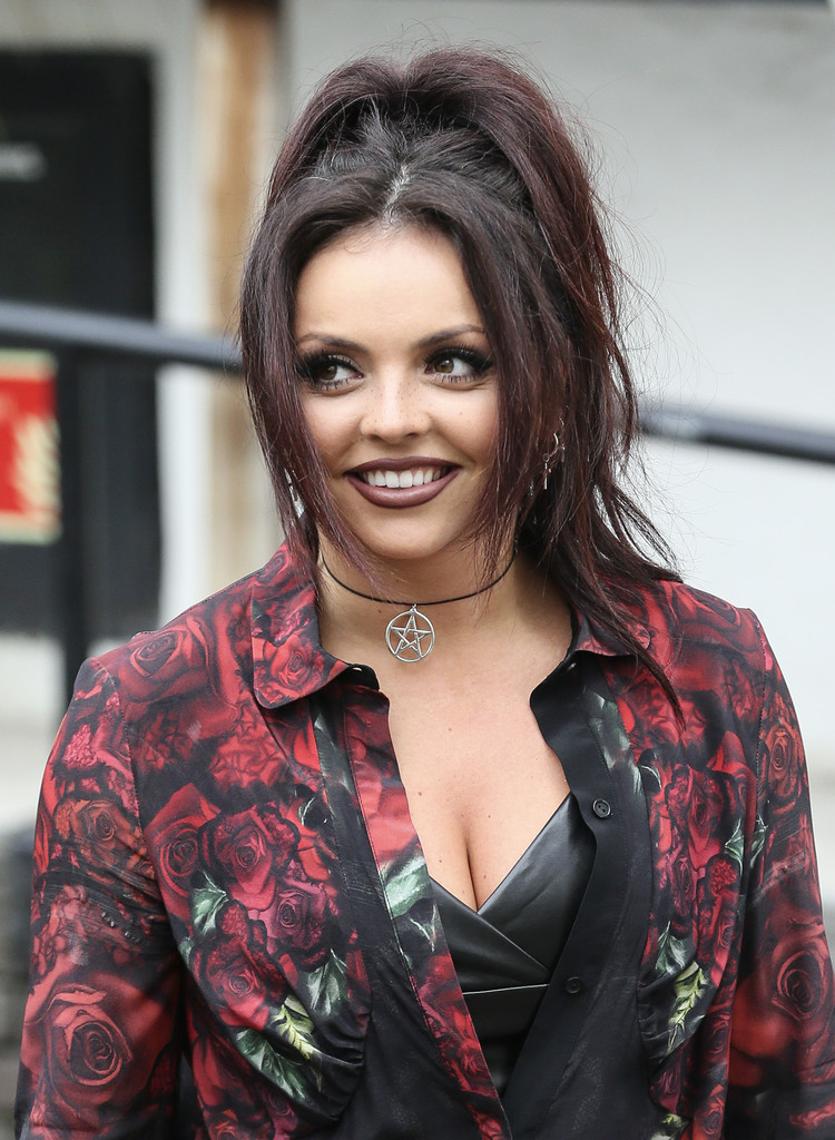 Jesy Nelson Photos Little Mix Stops By The ITV Studios