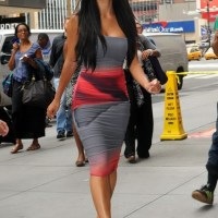 Street Style/Sidewalk Style with Nicole Scherzinger in New York City